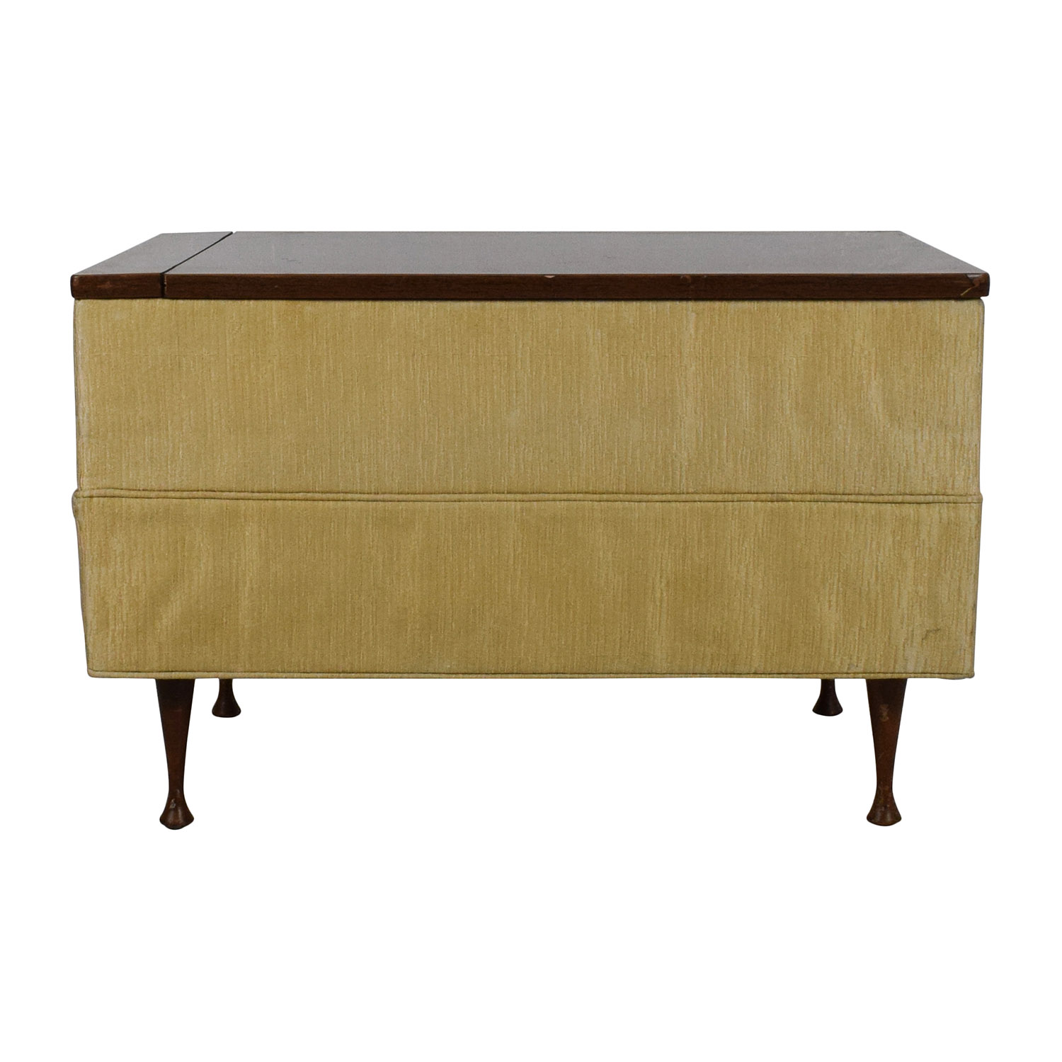 shop Vintage Ottoman Coffee Table with Storage Storage