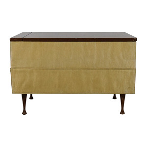 Vintage Ottoman Coffee Table with Storage dimensions