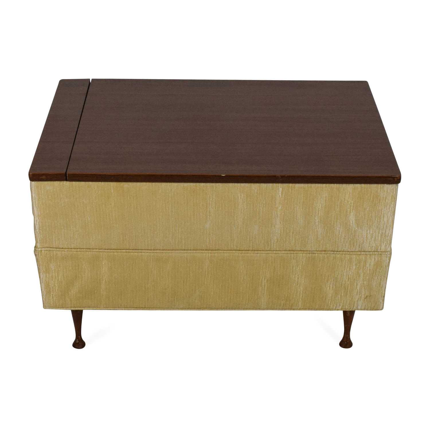 90 Off Vintage Ottoman Coffee Table With Storage Storage