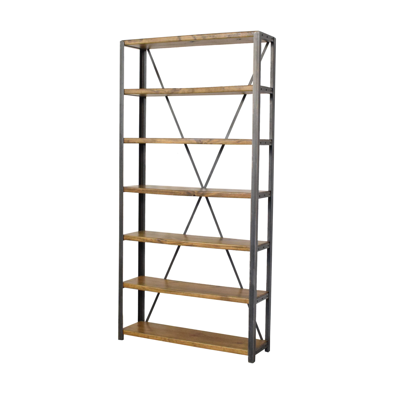 shop Brooklyn Reclaimed Custom Bookcase