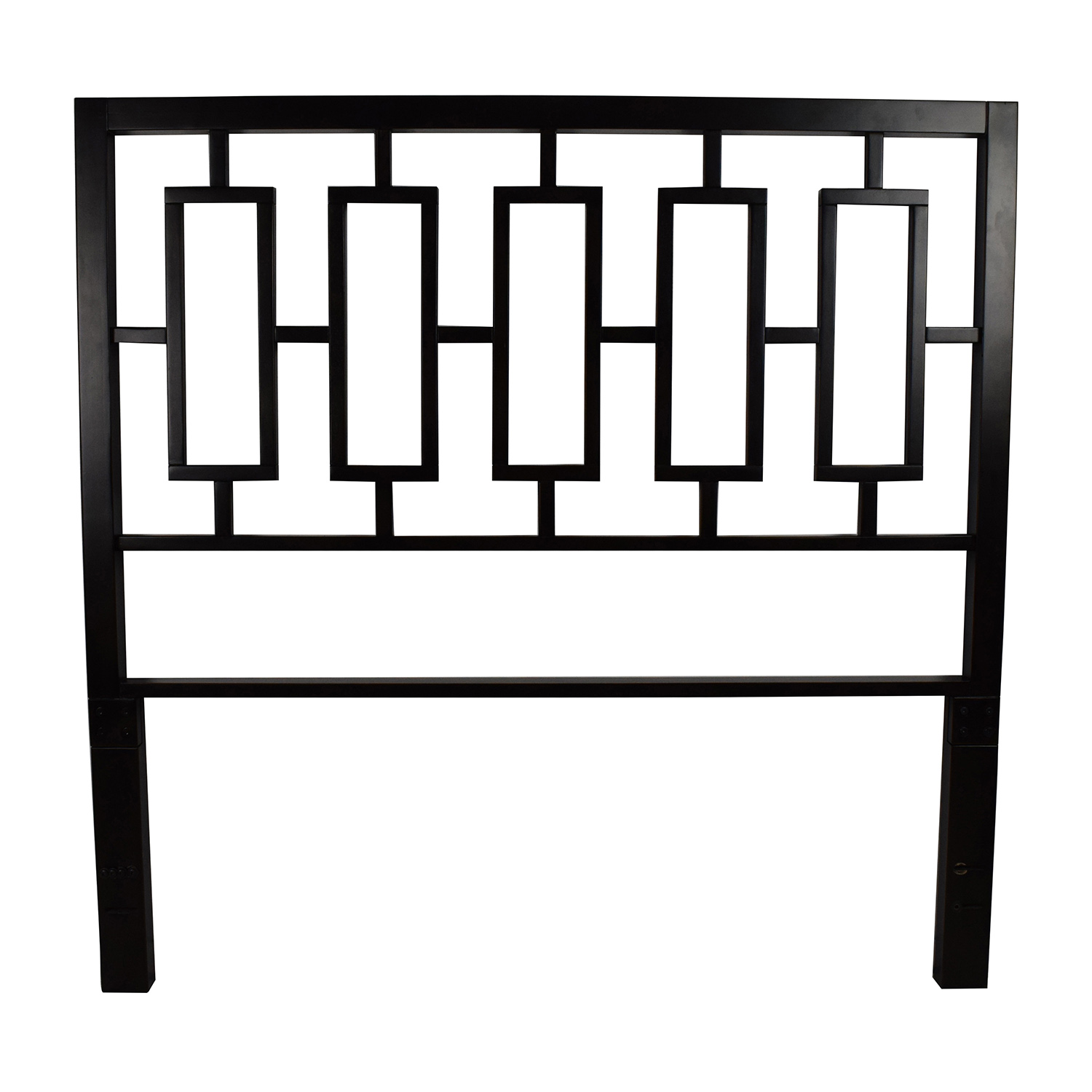West Elm West Elm Window Full Size Metal Headboard coupon