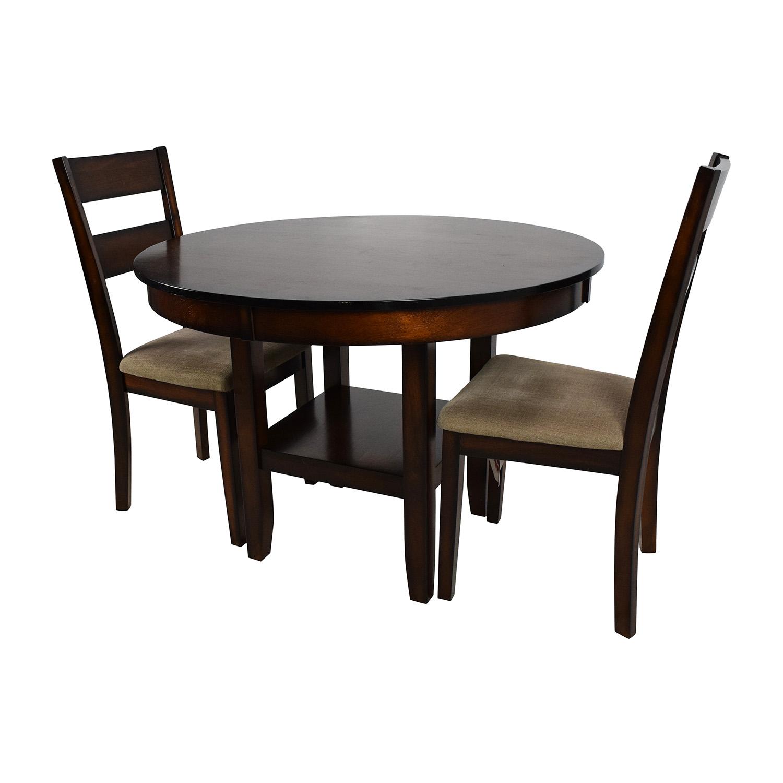 Awe Inspiring 85 Off Macys Macys Branton 3 Piece Dining Room Collection Tables Home Interior And Landscaping Ologienasavecom