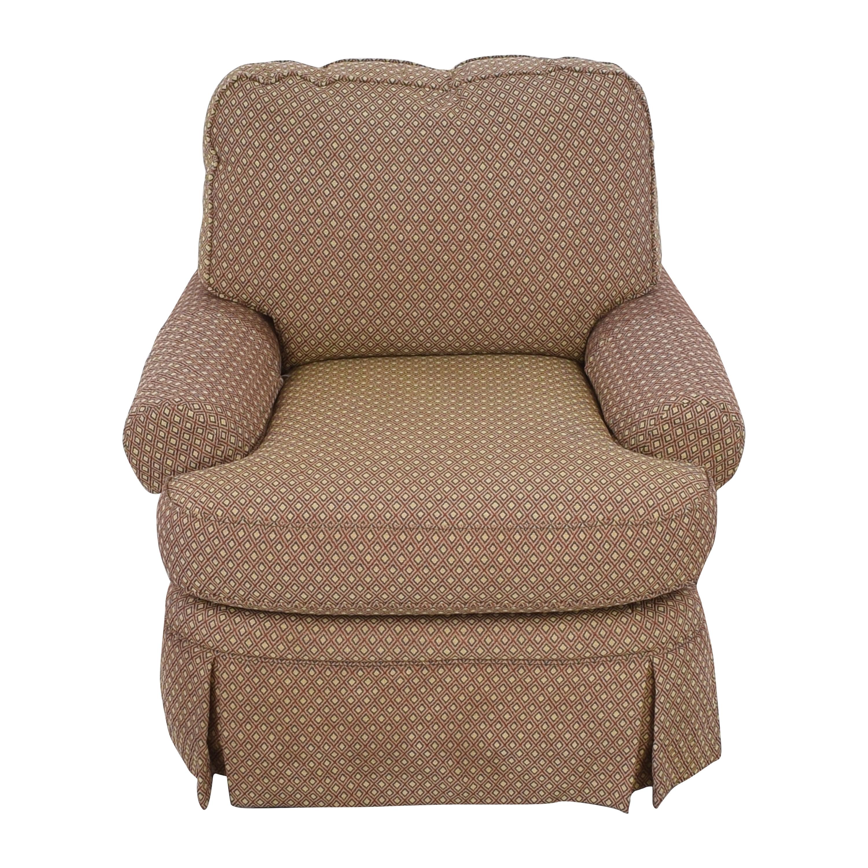 Bloomingdale's Bloomingdales Skirted Arm Chair ct
