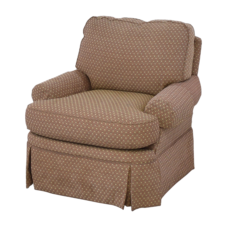 buy Bloomingdales Skirted Arm Chair Bloomingdale's Accent Chairs