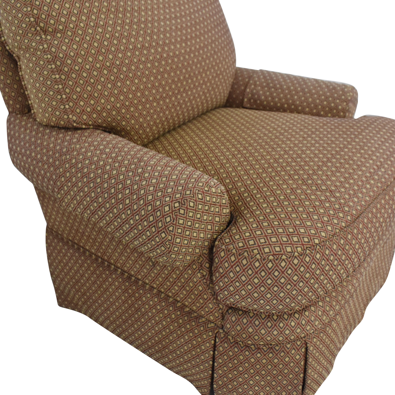 Bloomingdales Skirted Arm Chair sale