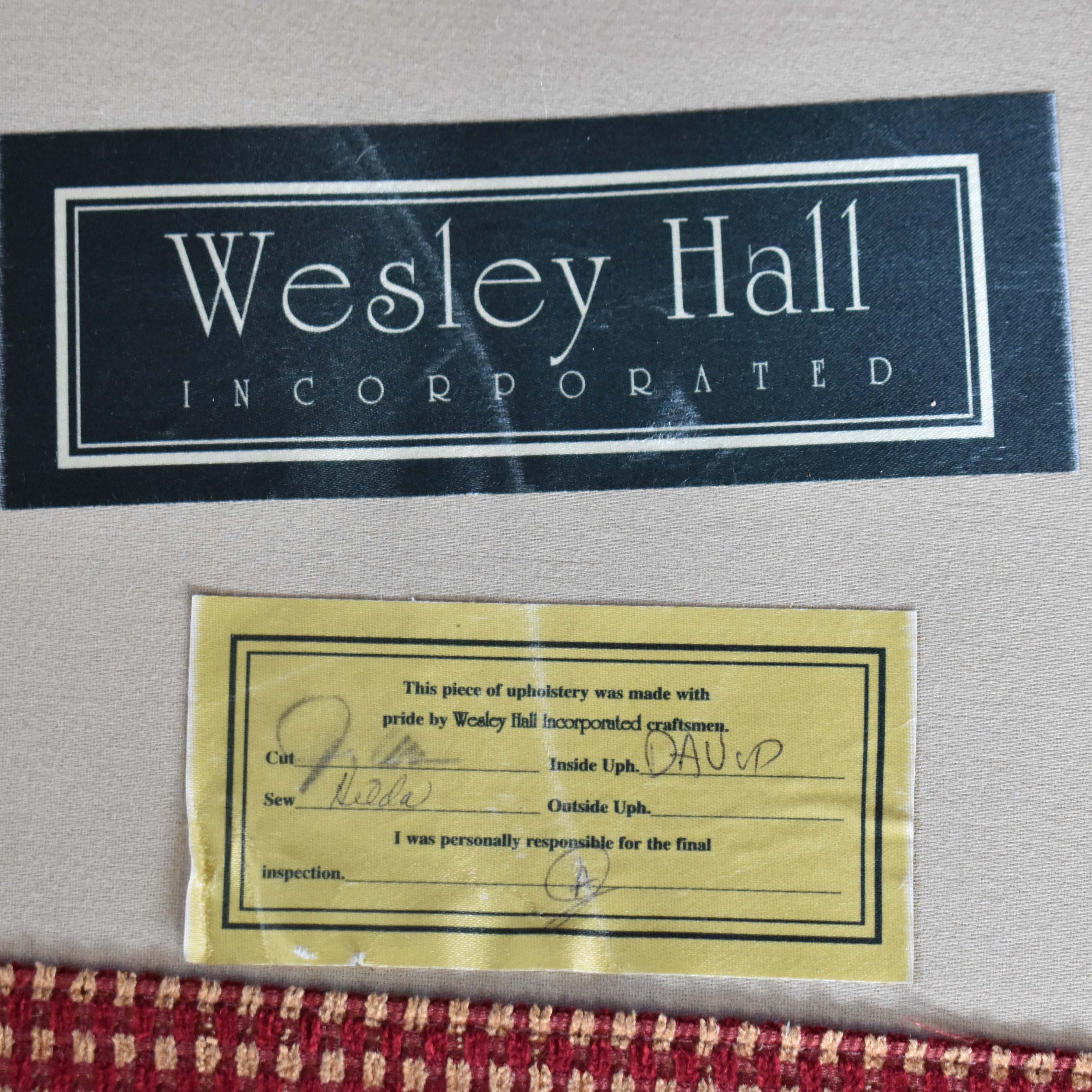 Wesley Hall Wesley Hall Loveseat coupon