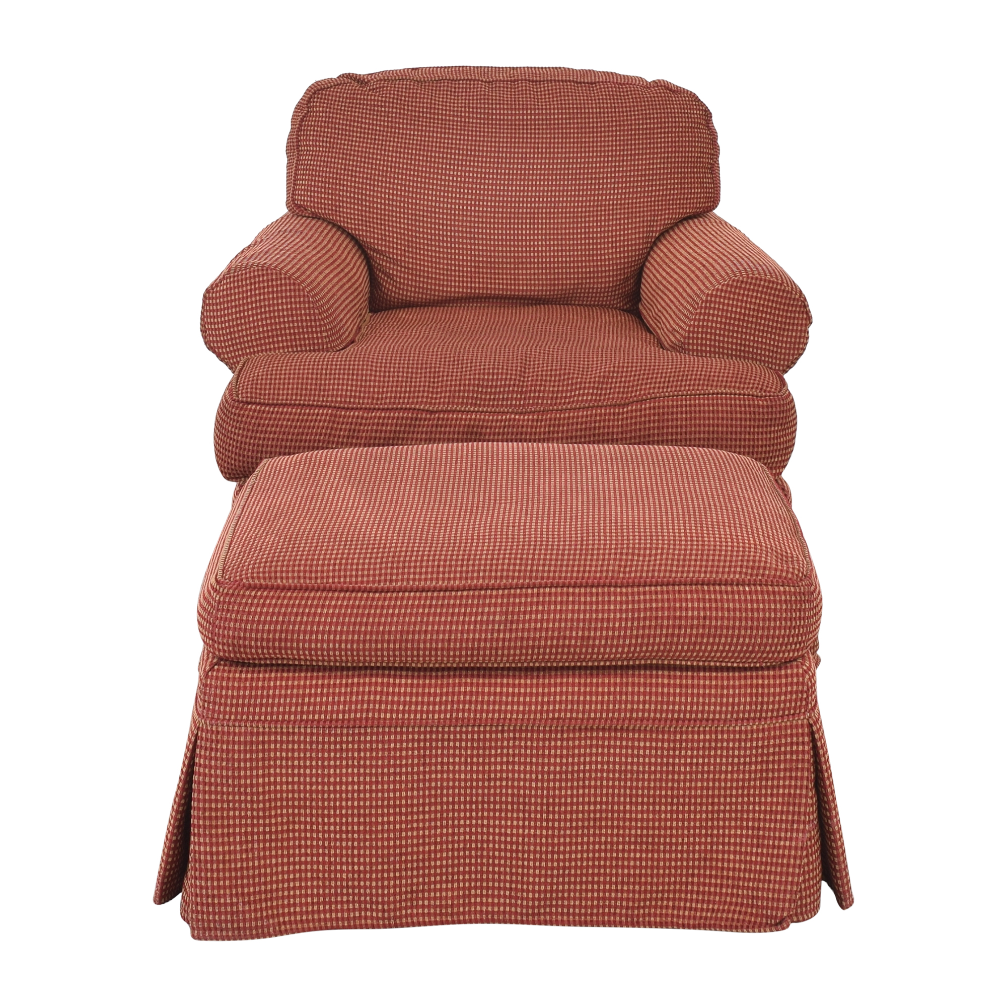 Wesley Hall Wesley Hall Lounge Chair with Ottoman dimensions