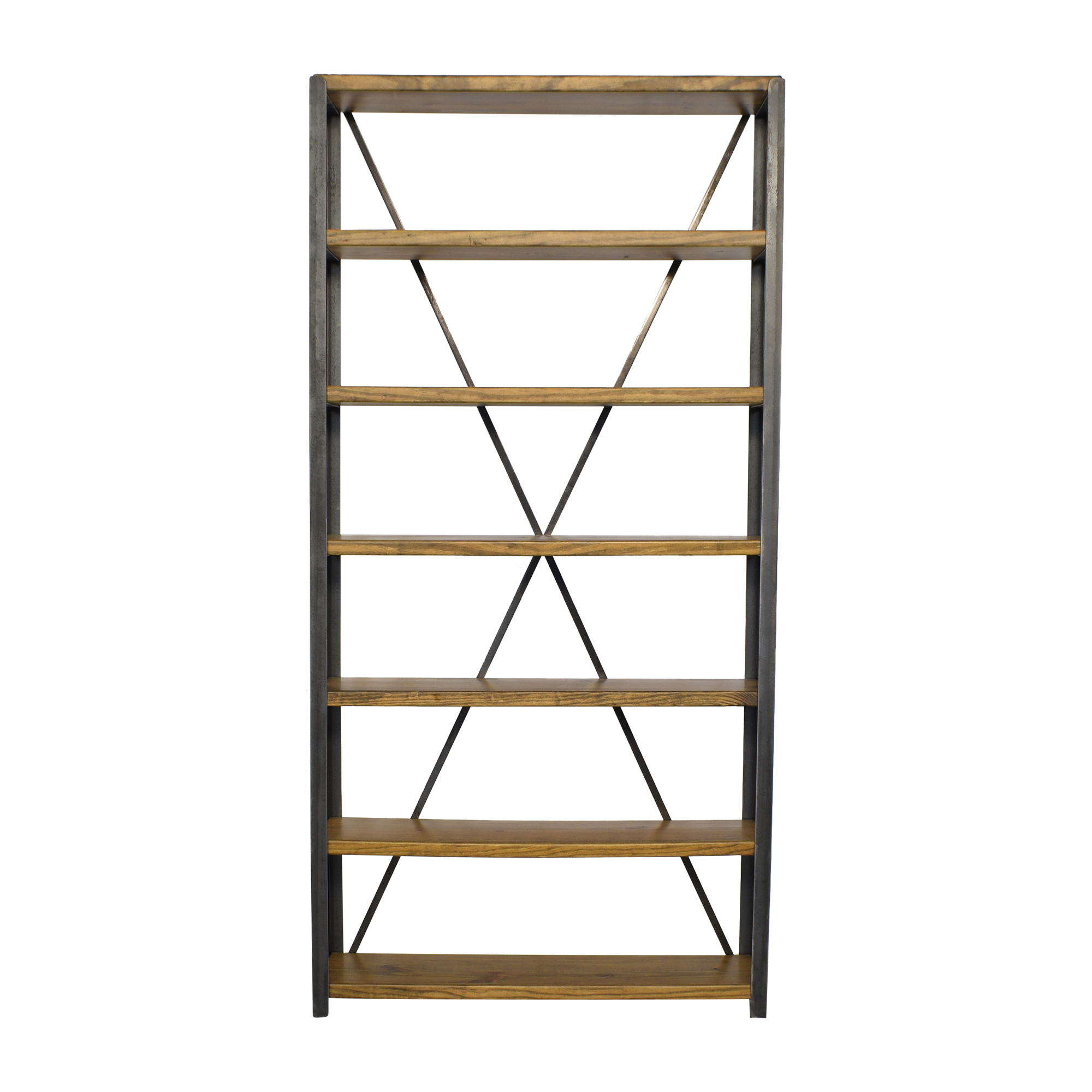 Brooklyn Reclaimed Custom Bookcase nyc
