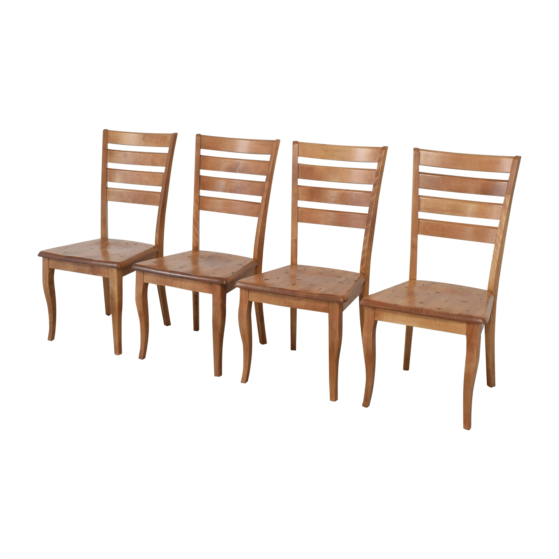 Bermex Bermex Ladder Back Dining Chairs nj