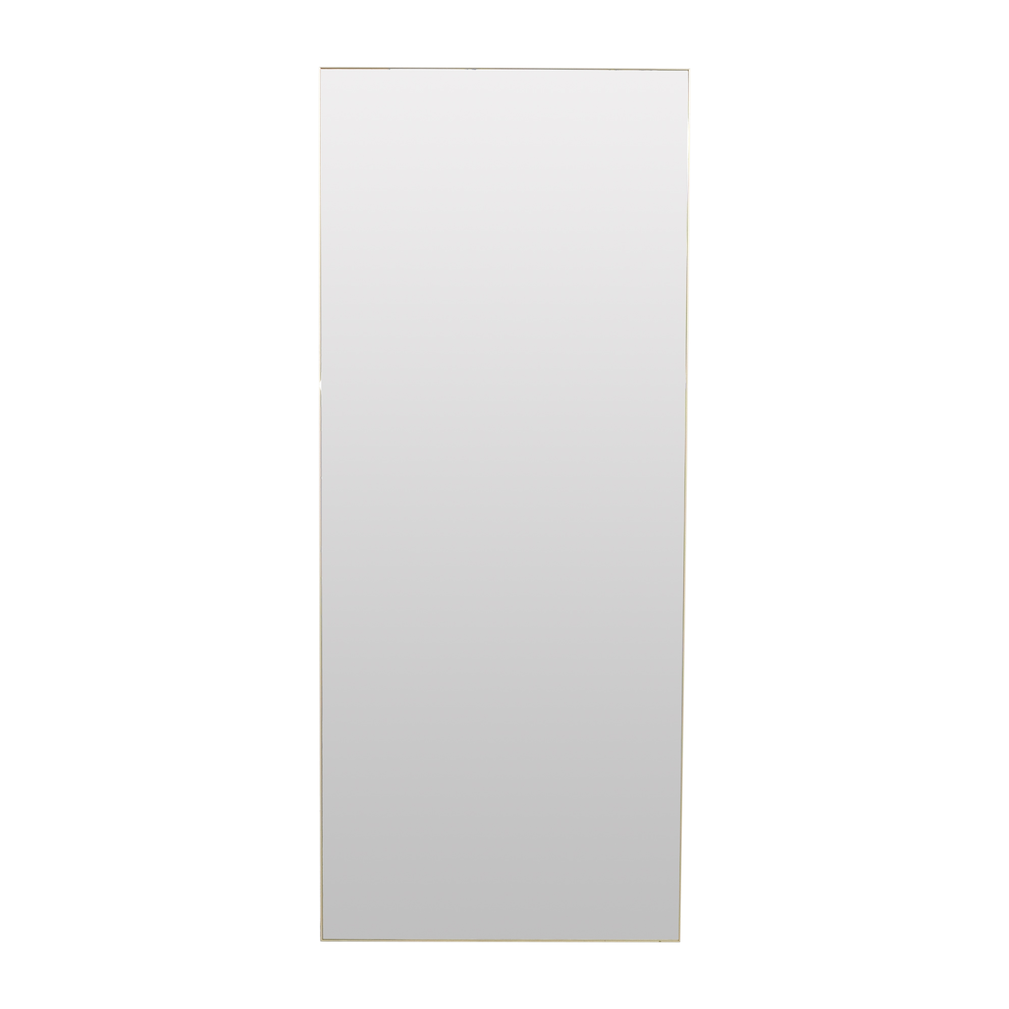 CB2 CB2 Infinity Floor Mirror gold