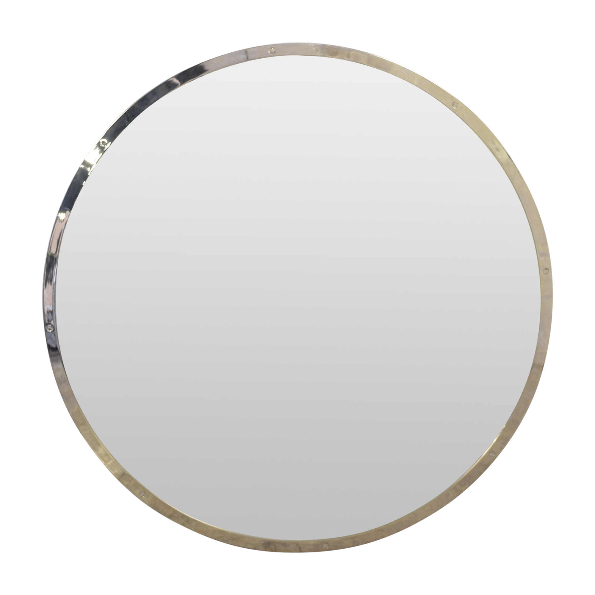 Restoration Hardware Restoration Hardware Bistro Round Mirror pa