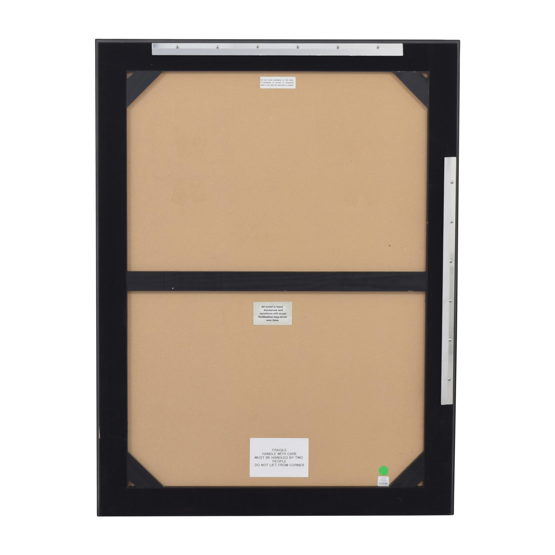 buy Restoration Hardware Framed Wall Mirror Restoration Hardware Decor