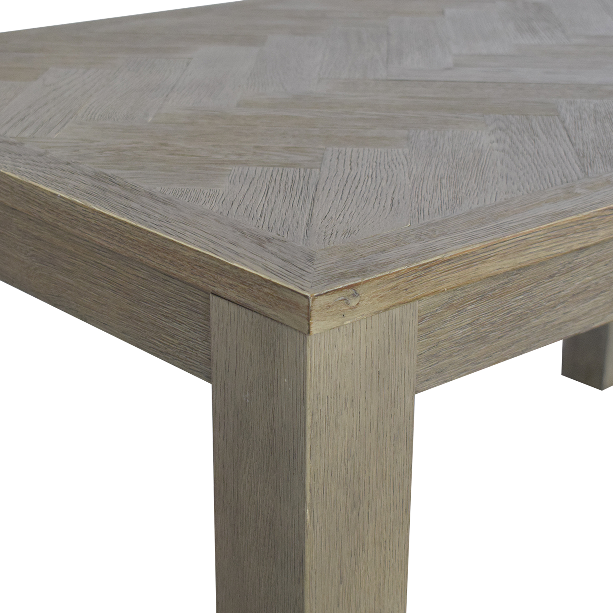 shop Restoration Hardware Restoration Hardware Herringbone Dining Table online