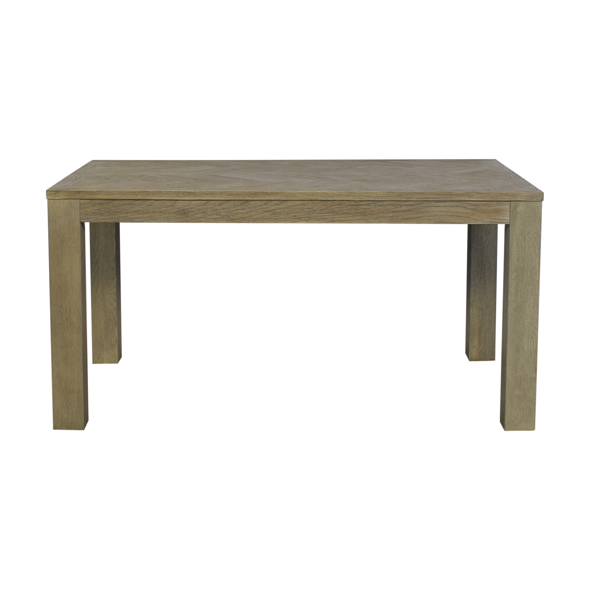 Restoration Hardware Restoration Hardware Herringbone Dining Table discount