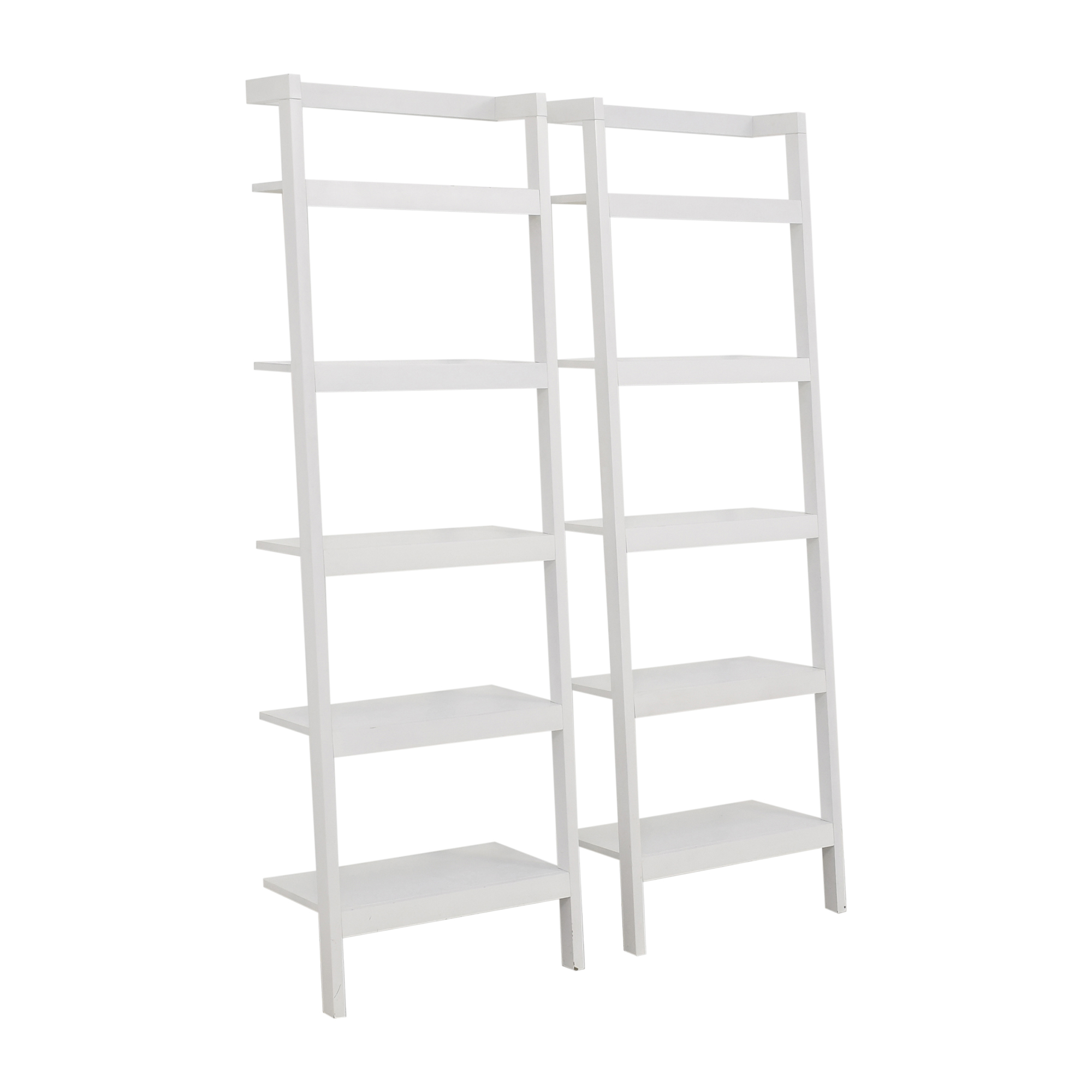 Crate & Barrel Crate & Barrel Leaning Shelves used