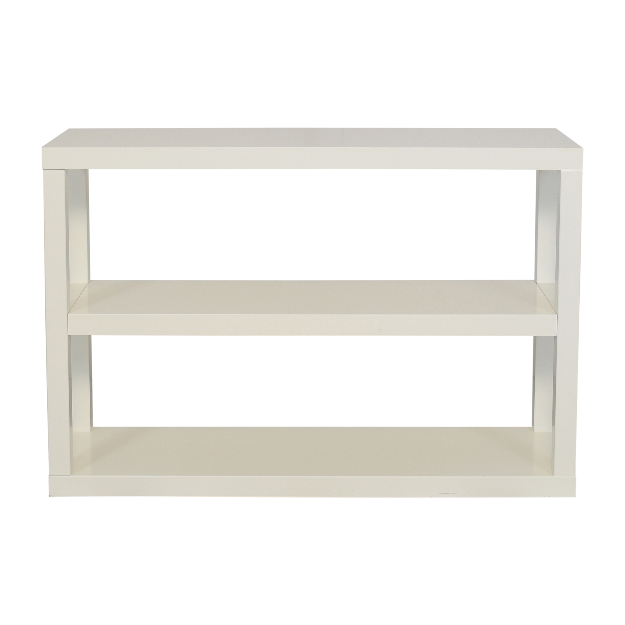 buy West Elm Parsons Low Bookshelf West Elm Bookcases & Shelving