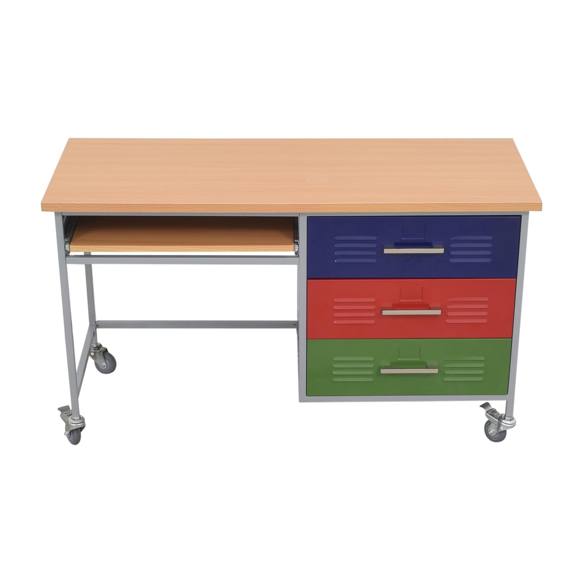 Pottery Barn Teen Pottery Barn Teen Colorblock Desk nyc