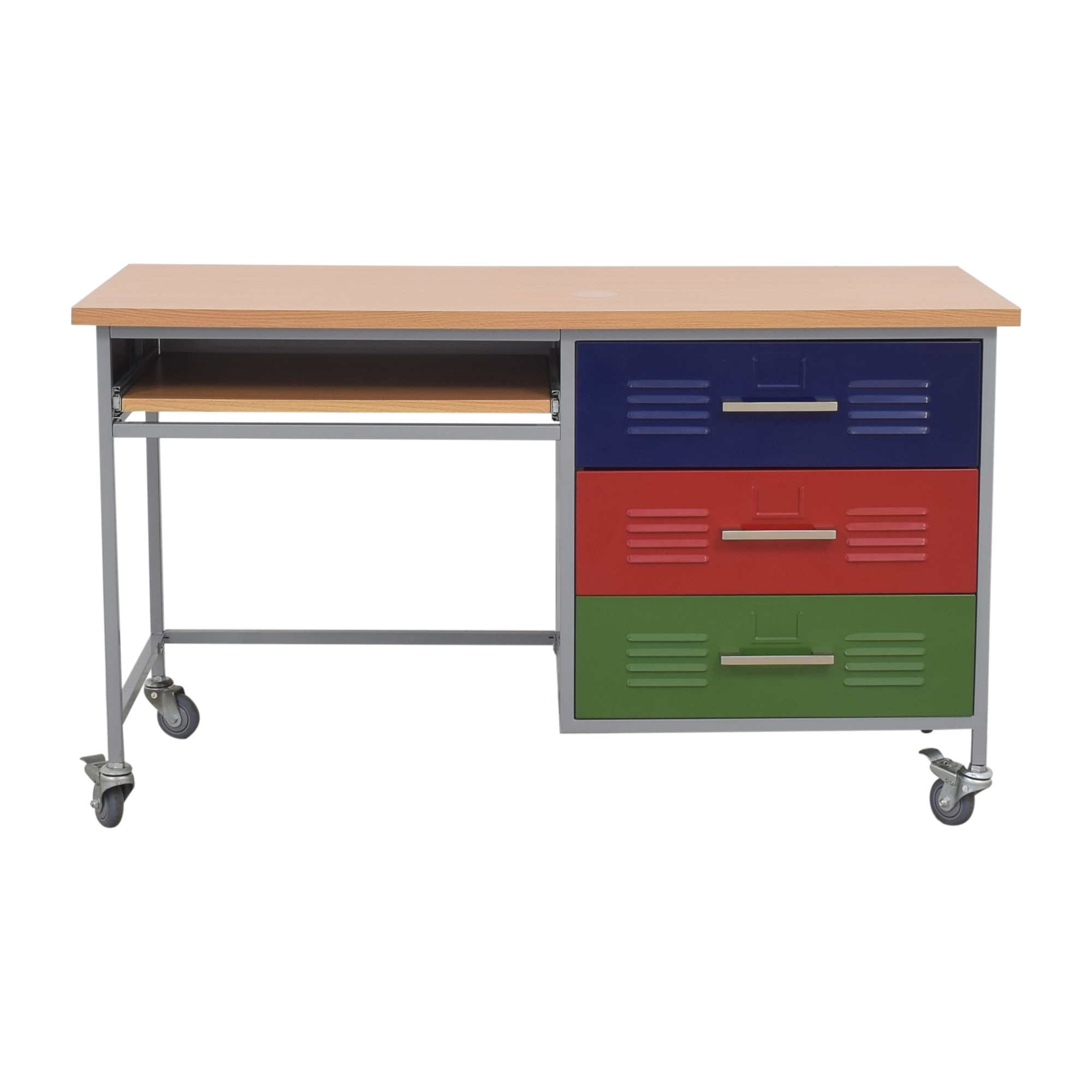 shop Pottery Barn Teen Pottery Barn Teen Colorblock Desk online