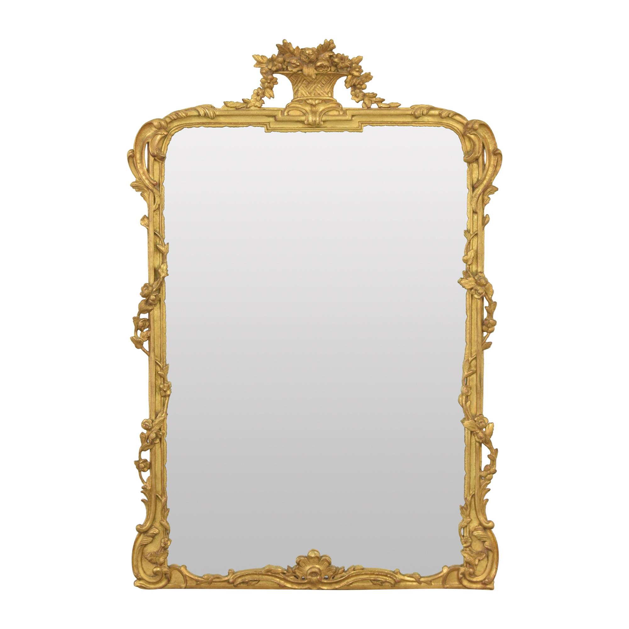 Carvers' Guild Carvers' Guild Panier de Fleur II Mirror on sale