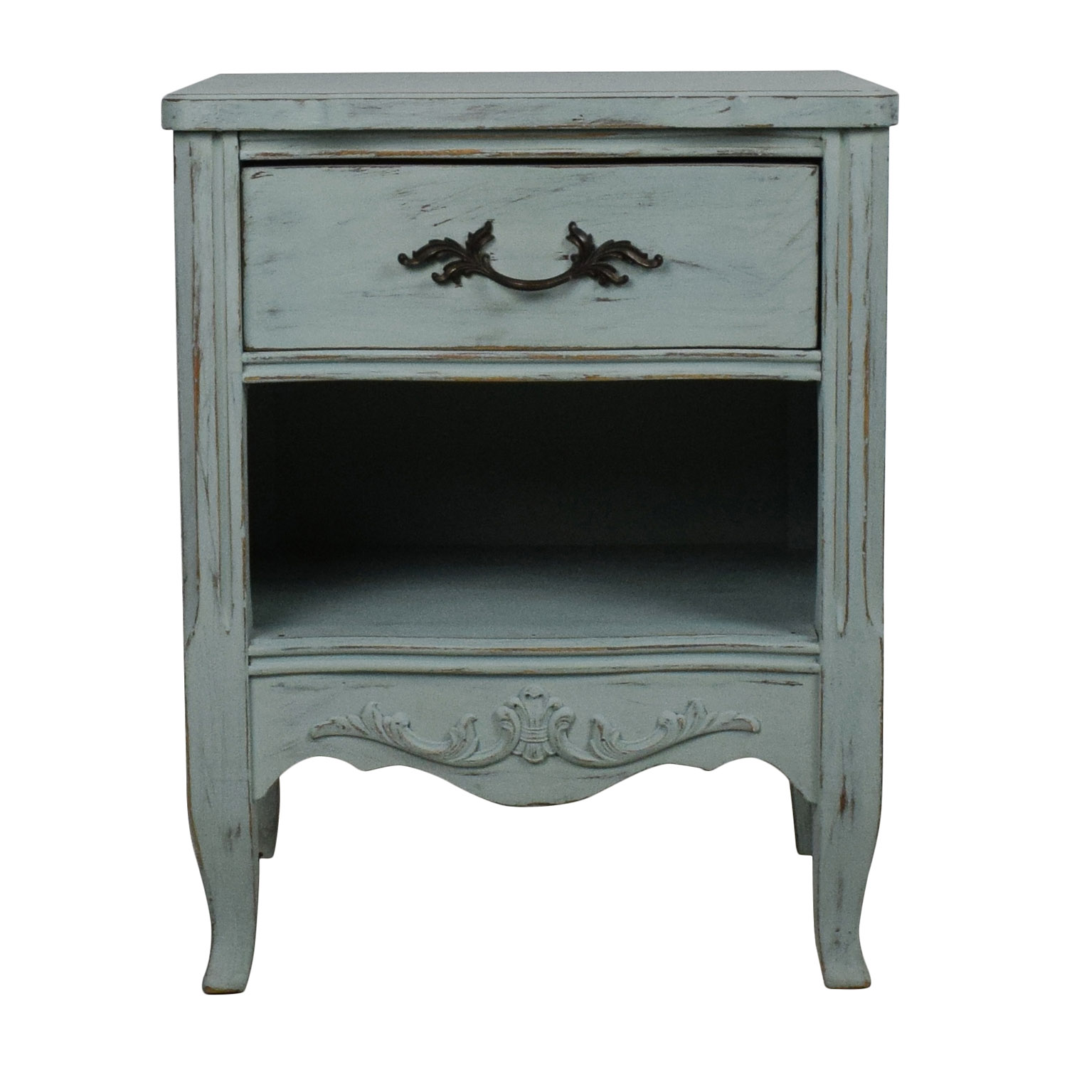 French Antique Nightstand second hand