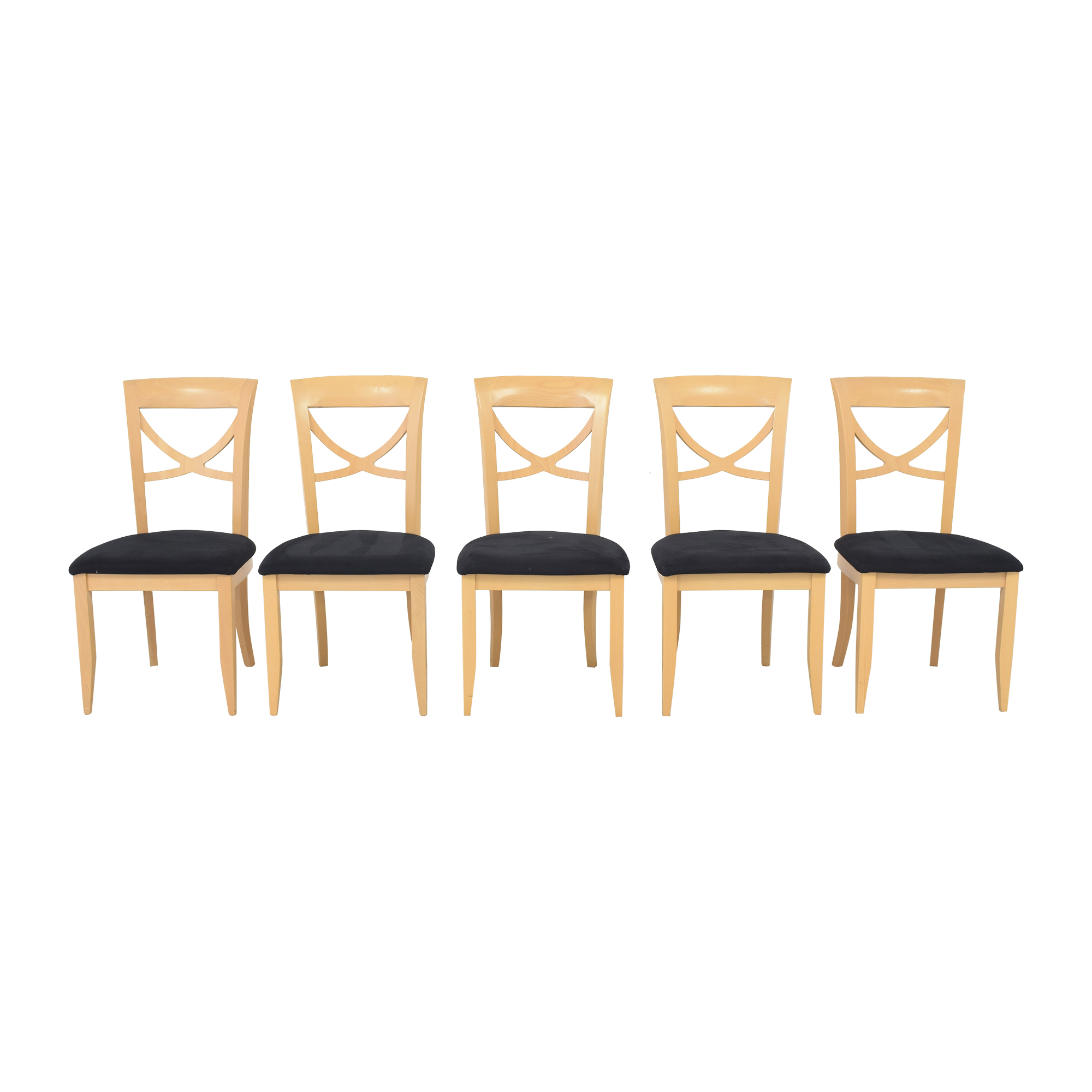 buy Italian Cross Back Dining Chairs  Dining Chairs