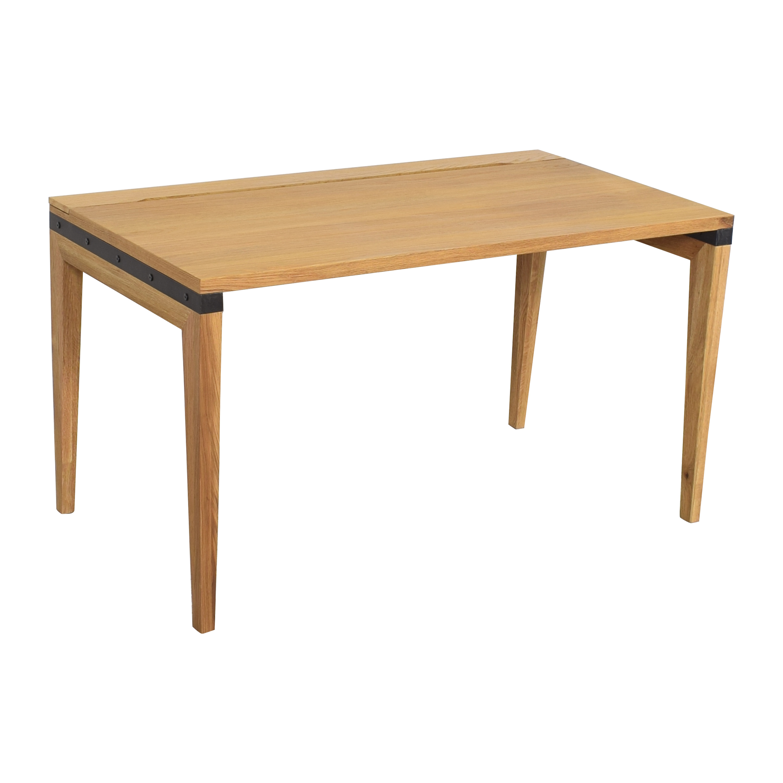 Article Article Rustic Oak Madera Desk nj