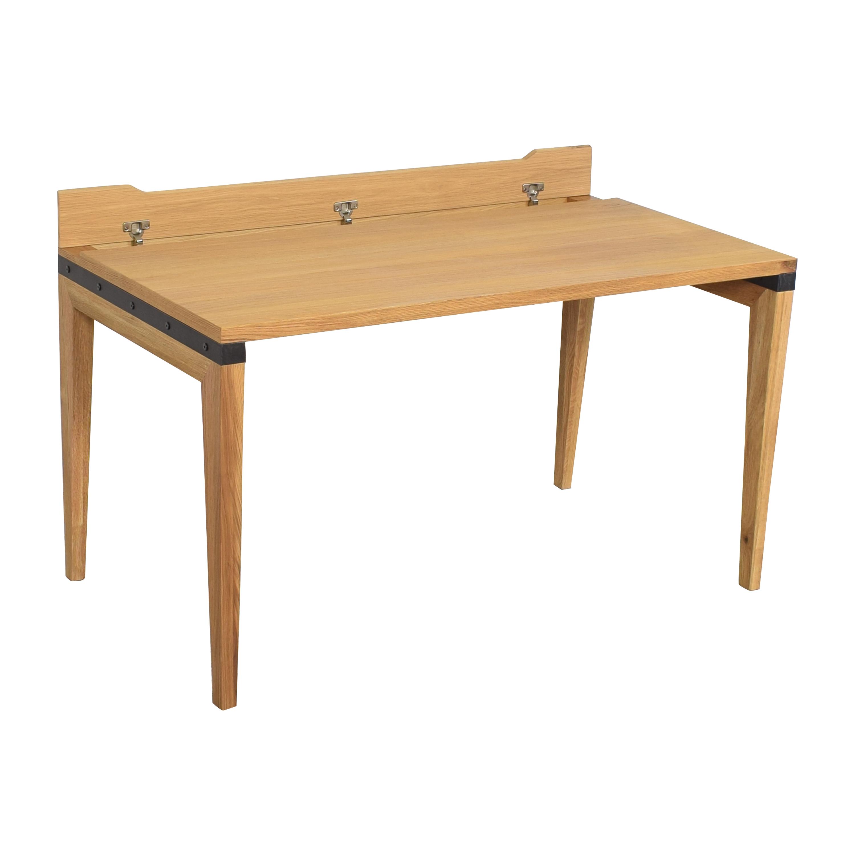 shop Article Rustic Oak Madera Desk Article