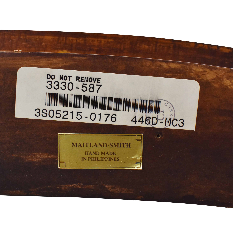 Maitland-Smith Maitland-Smith Oval Coffee Table for sale