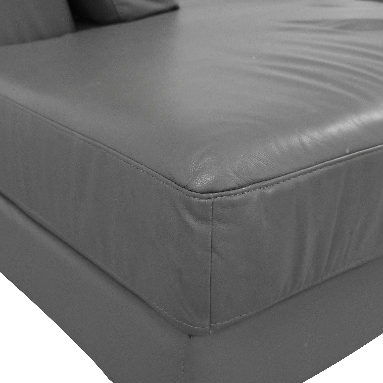 VIG VIG Chaise Sectional Sofa discount
