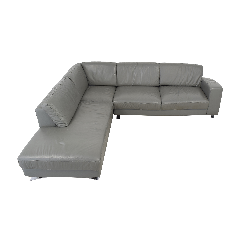 VIG VIG Chaise Sectional Sofa on sale