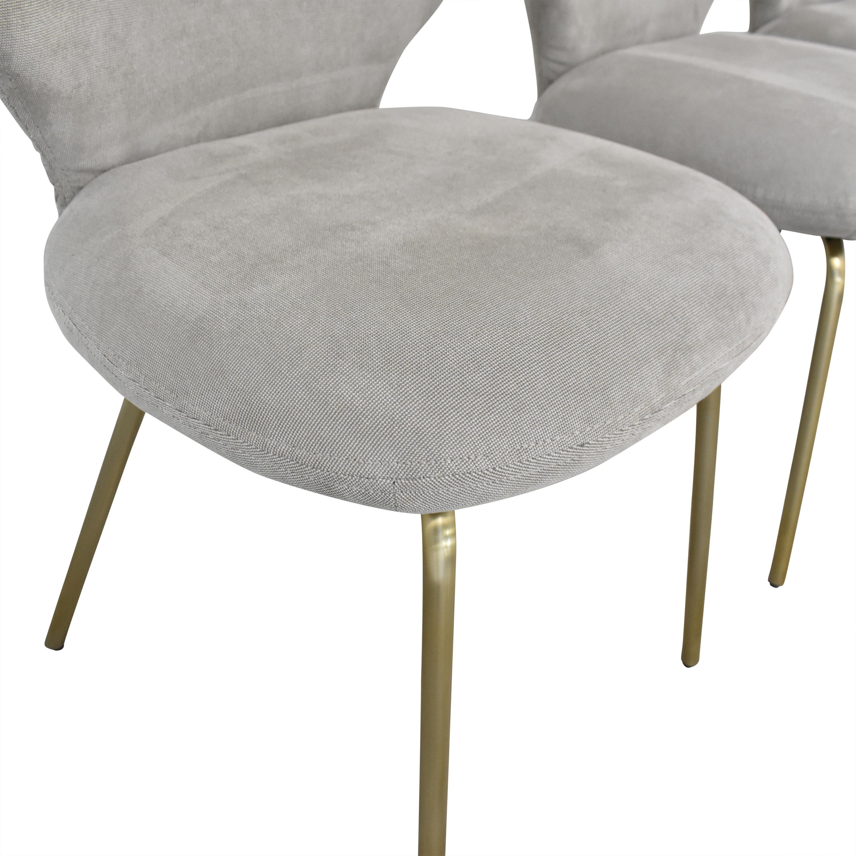 buy Interior Define Interior Define Upholstered Dining Chairs online