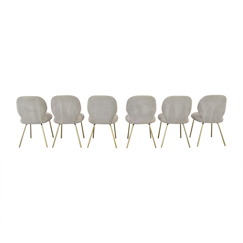 Interior Define Upholstered Dining Chairs Interior Define