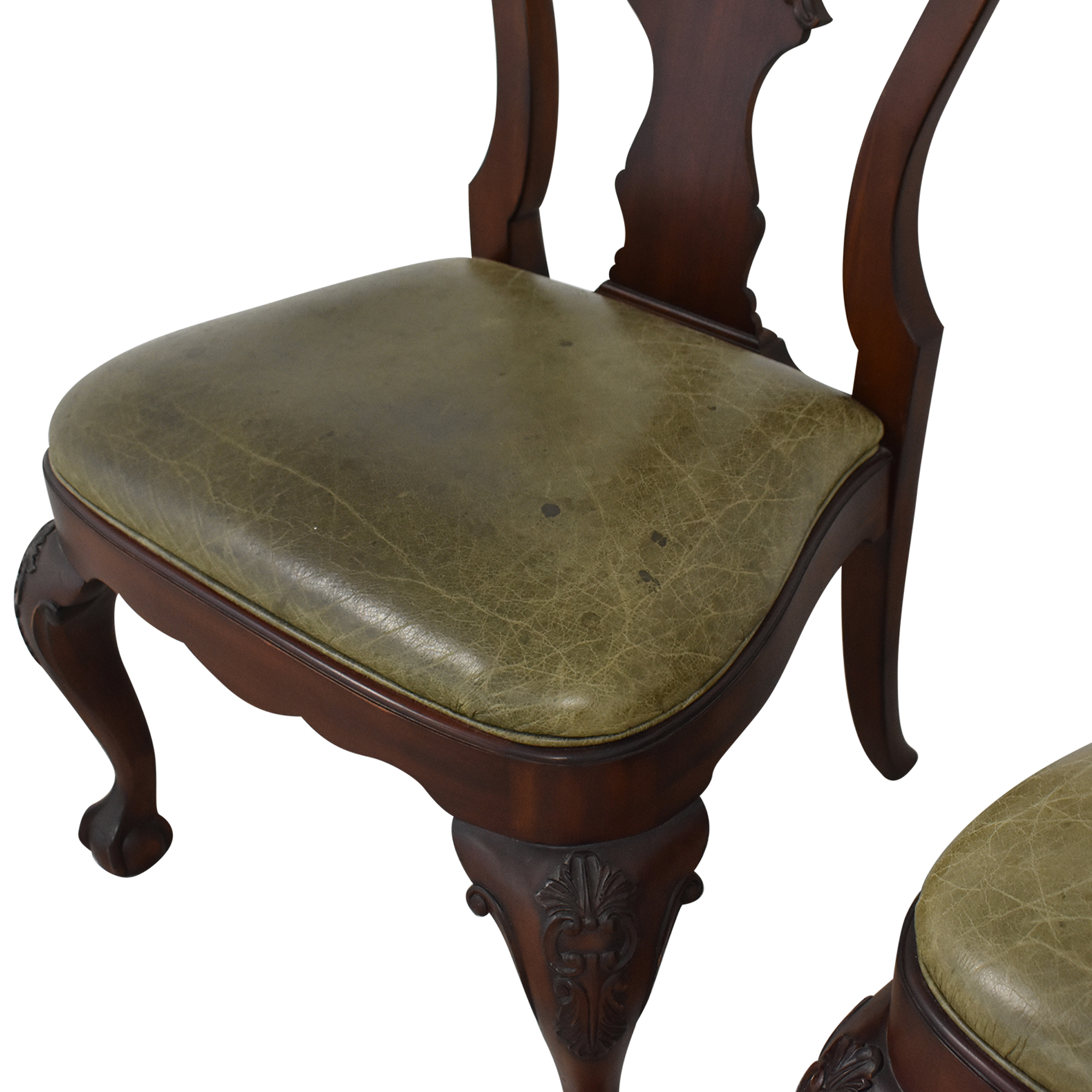 buy Ethan Allen Queen Anne Side Dining Chairs Ethan Allen Chairs