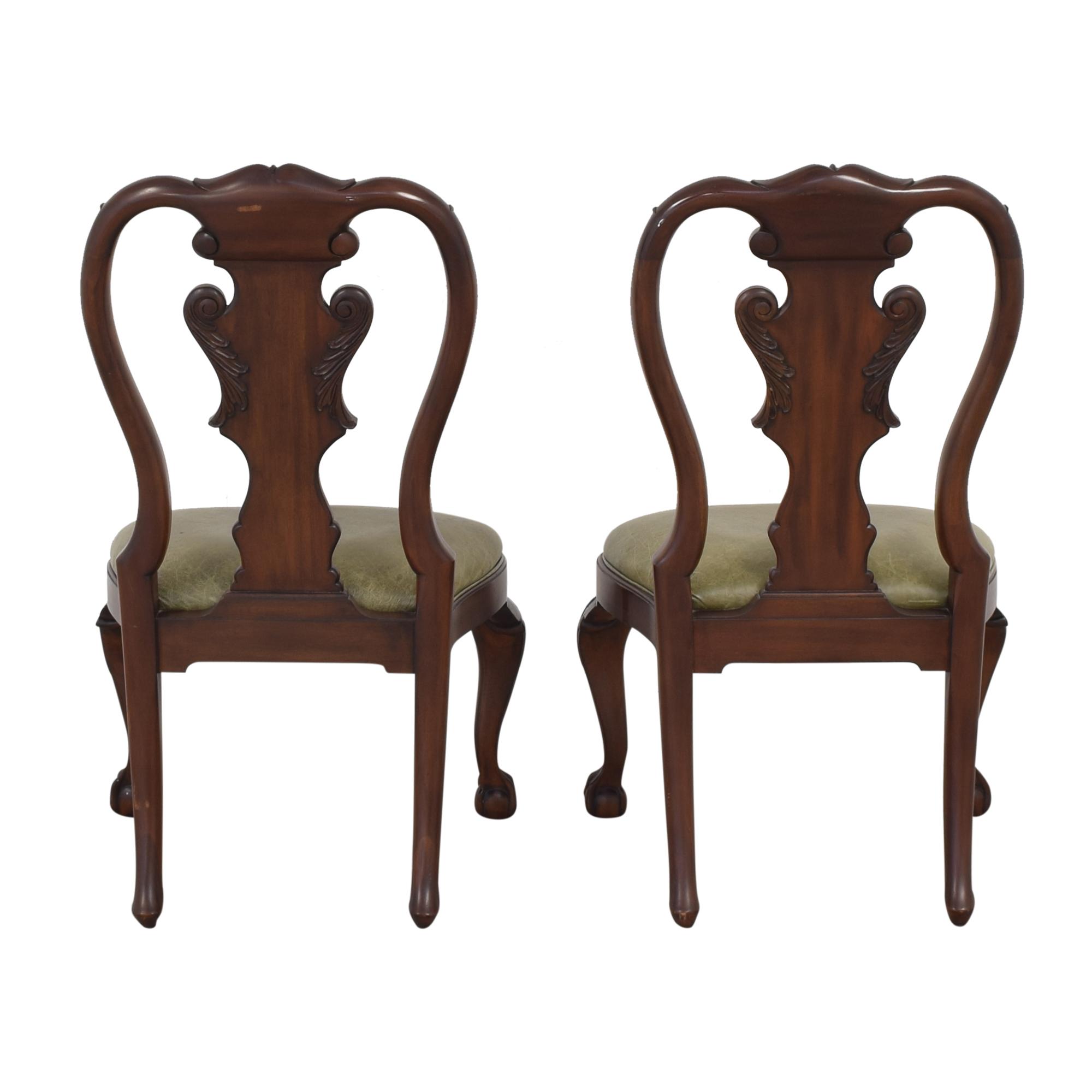 Ethan Allen Ethan Allen Queen Anne Side Dining Chairs