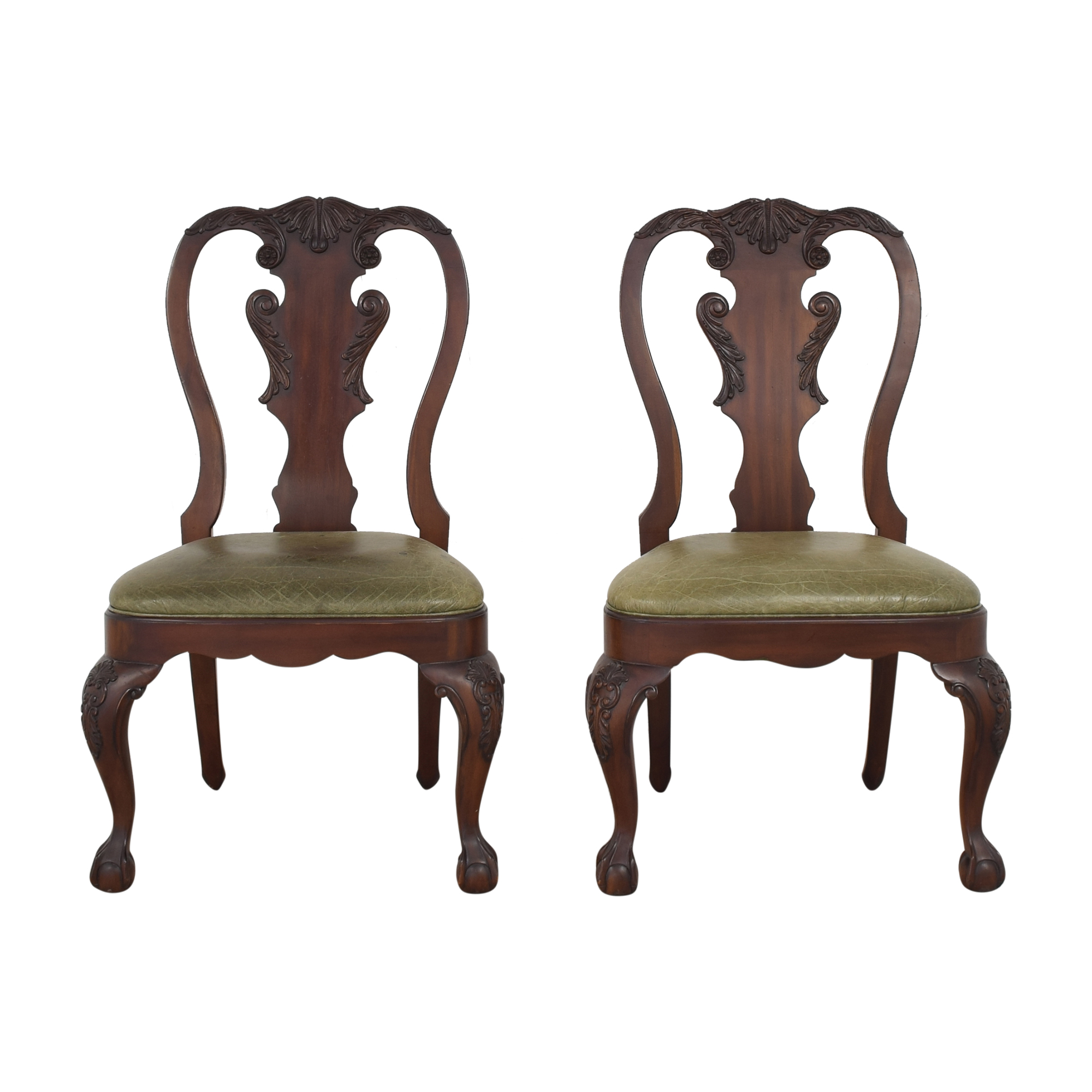 buy Ethan Allen Queen Anne Side Dining Chairs Ethan Allen