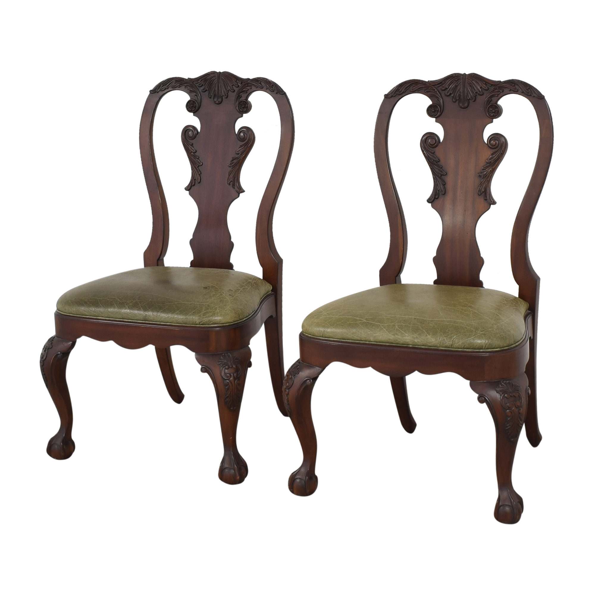 Ethan Allen Ethan Allen Queen Anne Side Dining Chairs Chairs