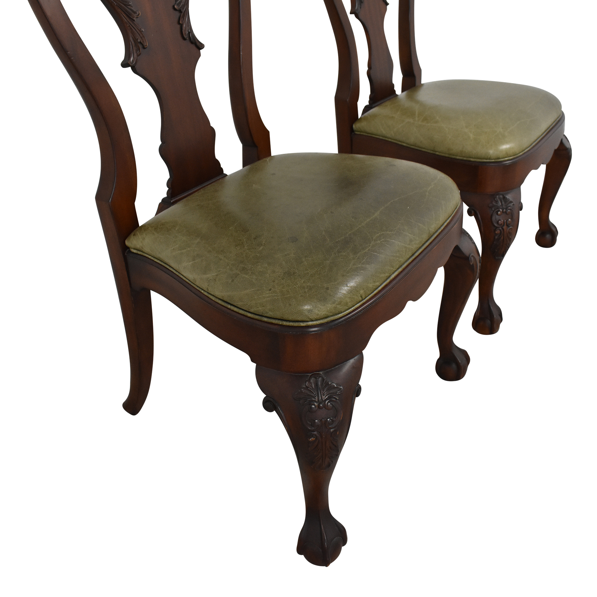 Ethan Allen Ethan Allen Queen Anne Side Dining Chairs Dining Chairs