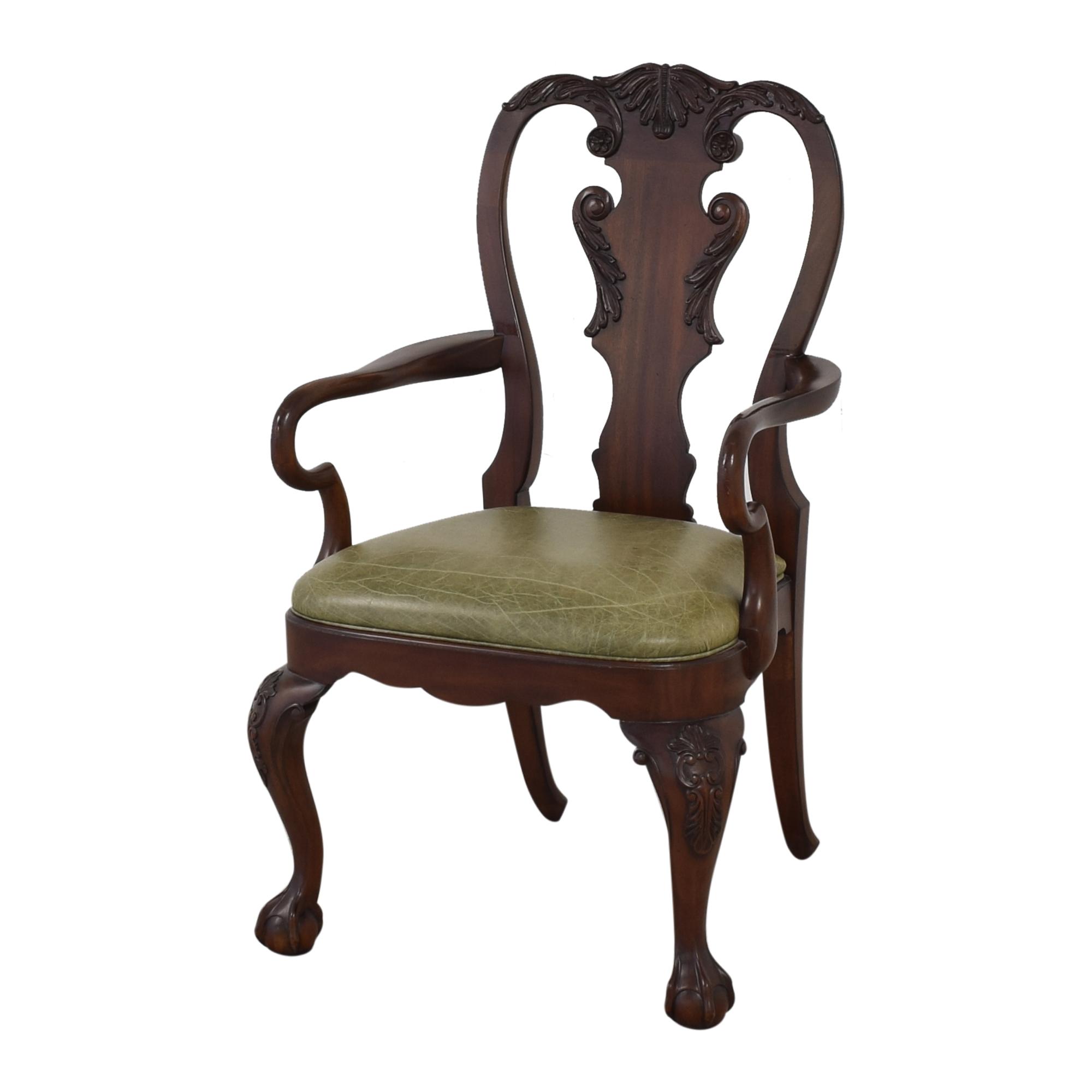 Ethan Allen Ethan Allen Queen Anne Dining Arm Chairs Chairs