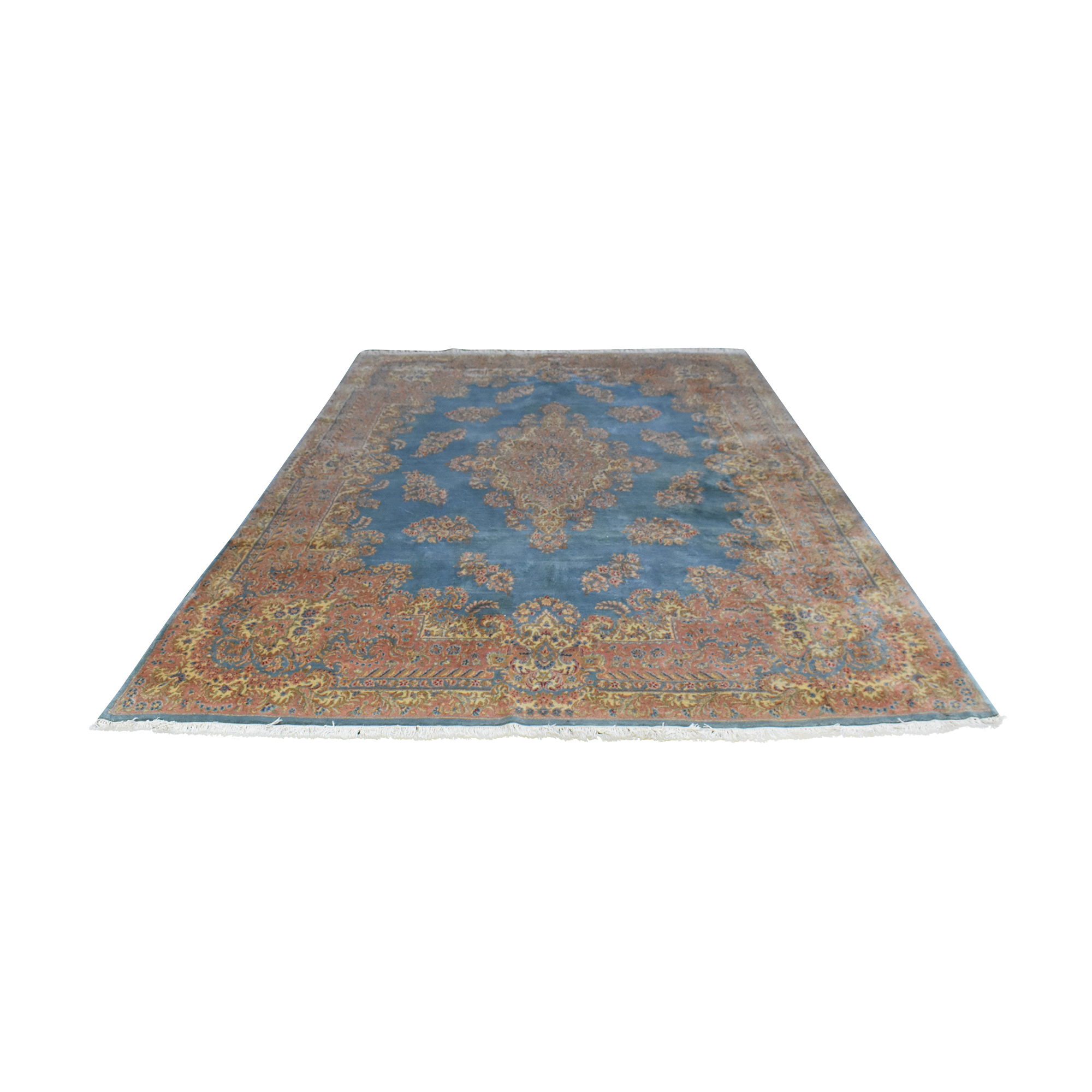 Vintage Handmade Persian Wool Carpet ct