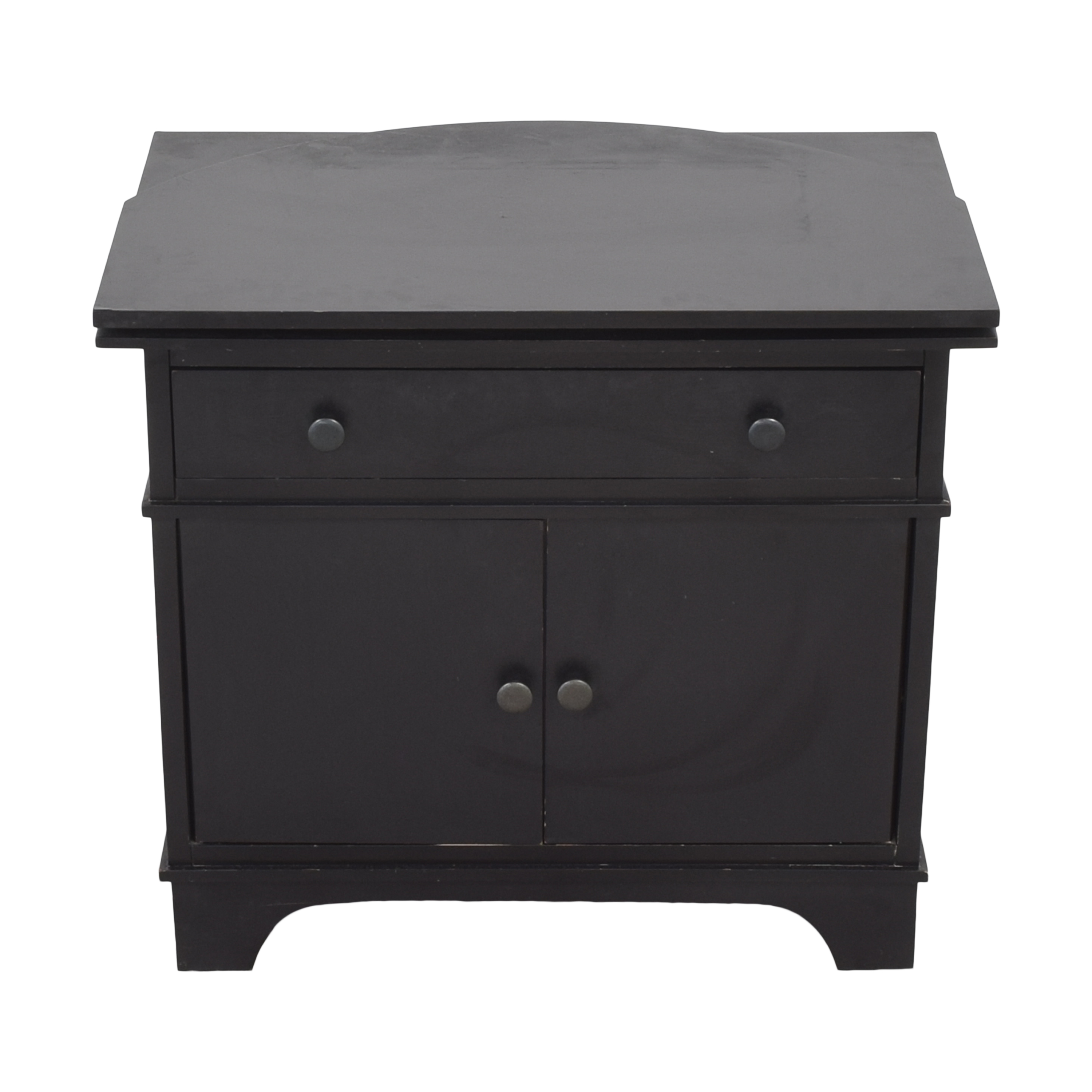 Pottery Barn Pottery Barn Cabot Swivel Media Console for sale