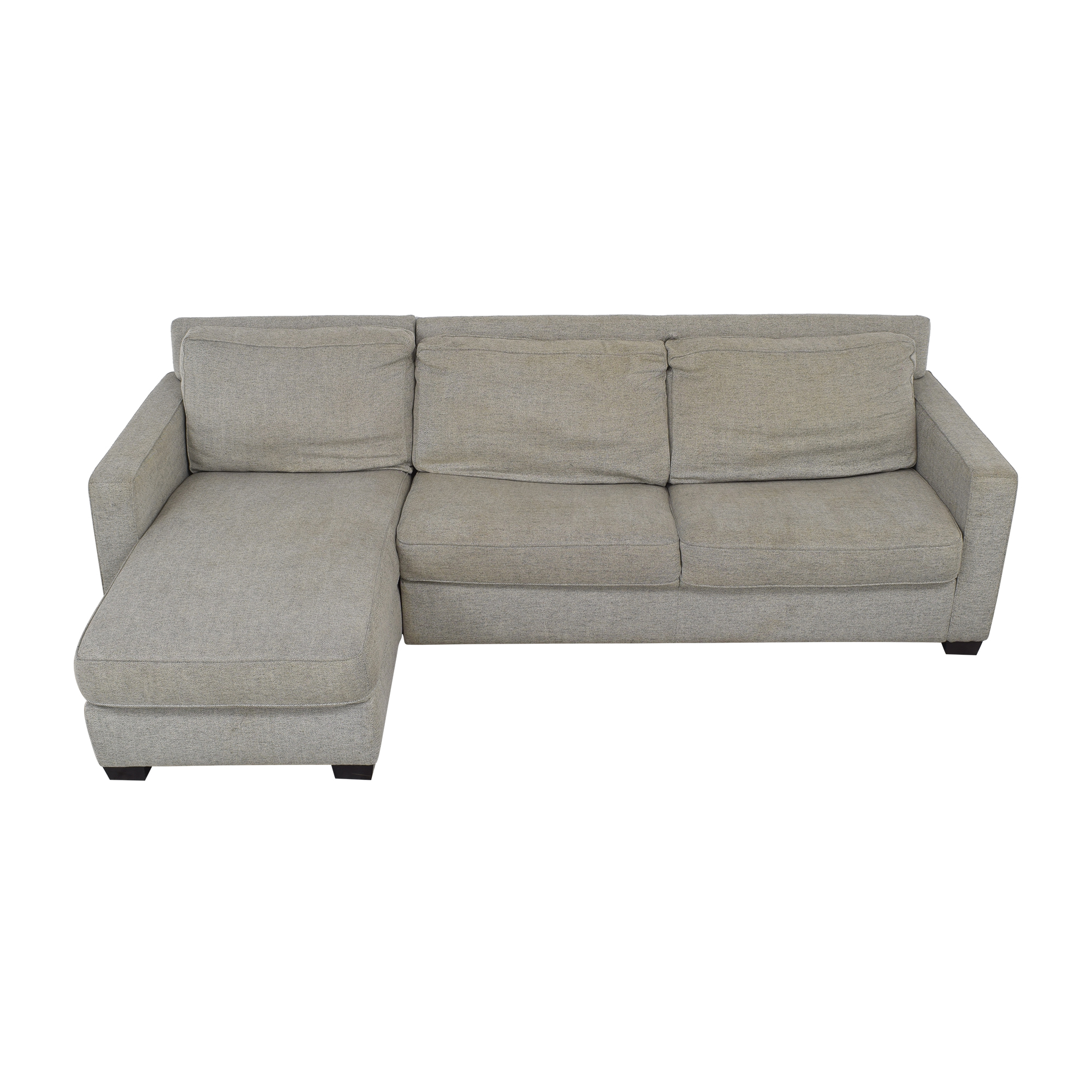 West Elm West Elm Henry 2-Piece Full Sleeper Sectional with Storage nyc