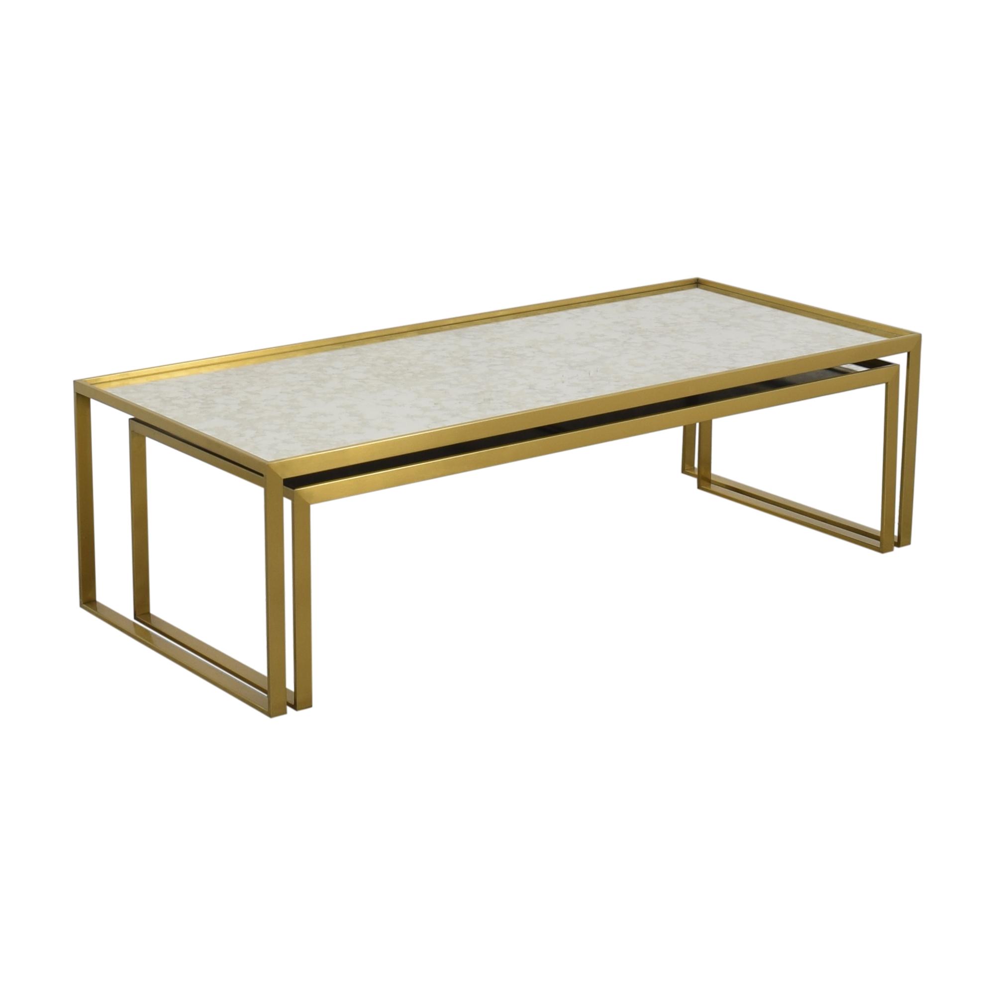 Mitchell Gold + Bob Williams Mitchell Gold & Bob William Astor Nesting Table used