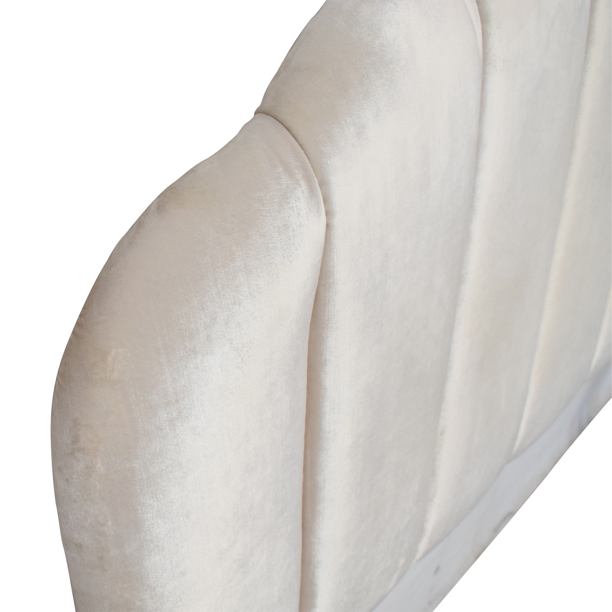 buy World Market Channel Back Deco Upholstered Queen Headboard World Market