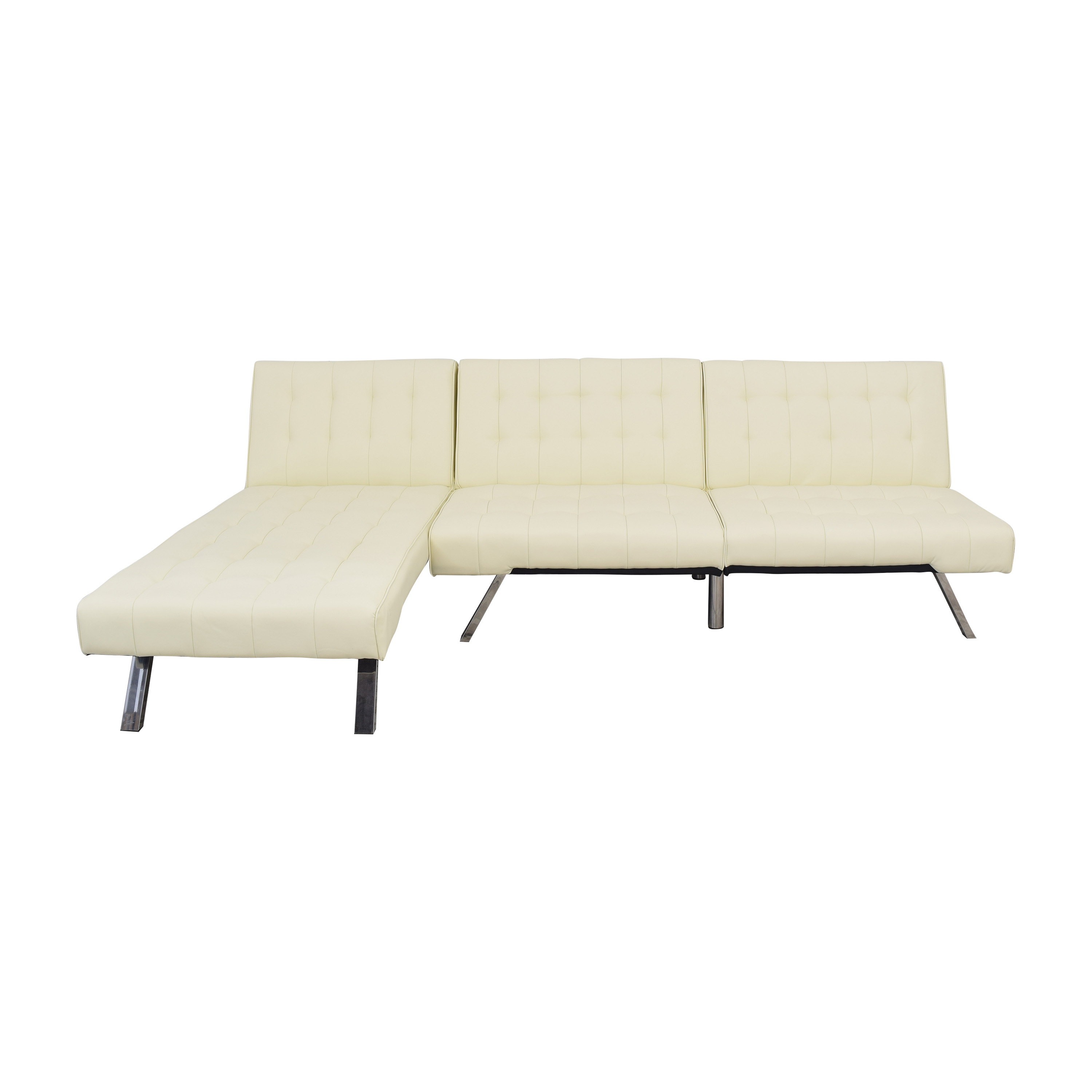 DHP DHP Emily Sectional Futon Sofa with Chaise nyc