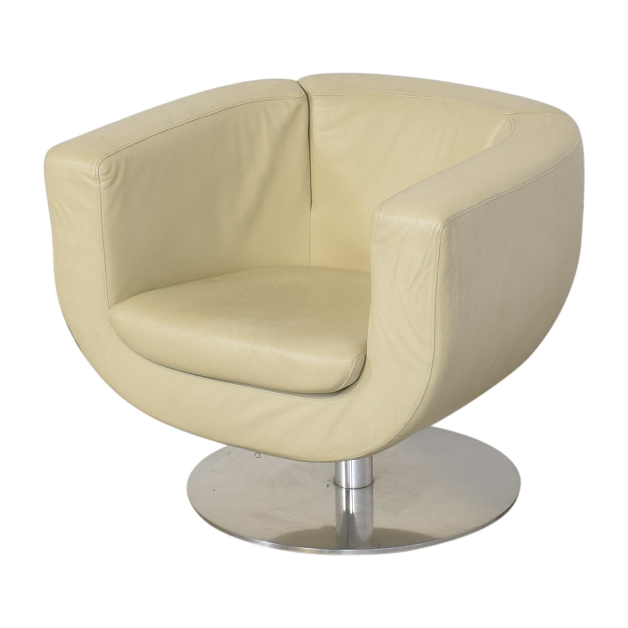 shop B&B Italia Jeffrey Bernett Tulip Swivel Chair B&B Italia Accent Chairs