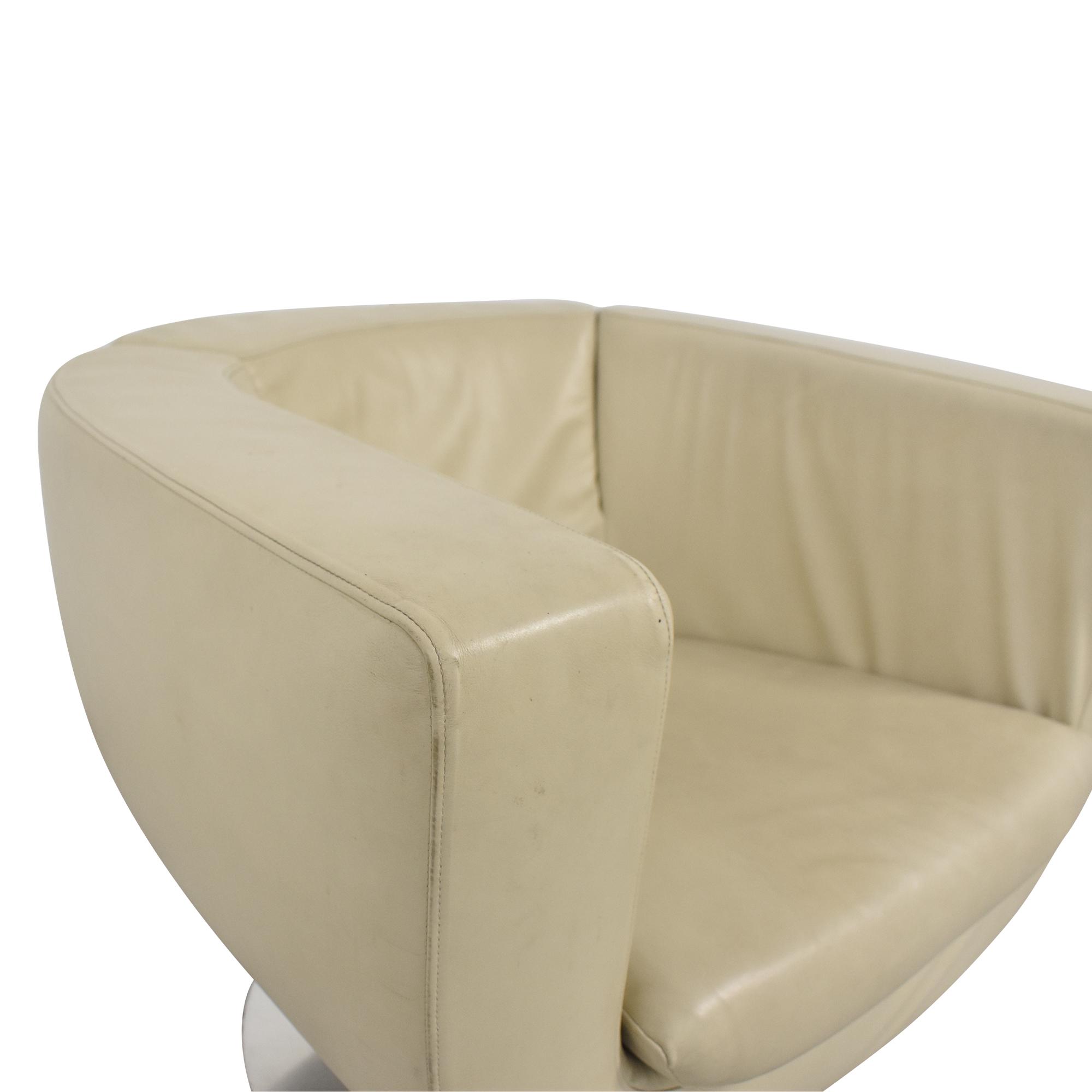 B&B Italia B&B Italia Jeffrey Bernett Tulip Swivel Chair ct