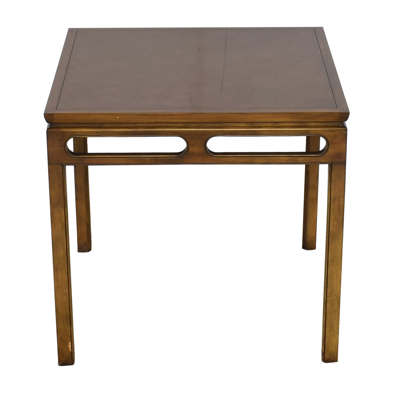 Baker Furniture Baker Furniture Square Dining Table pa