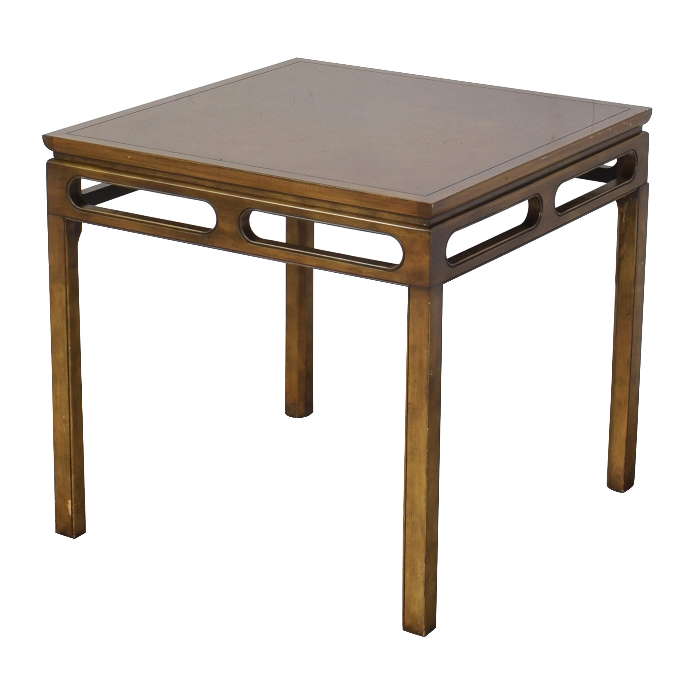 Baker Furniture Baker Furniture Square Dining Table on sale