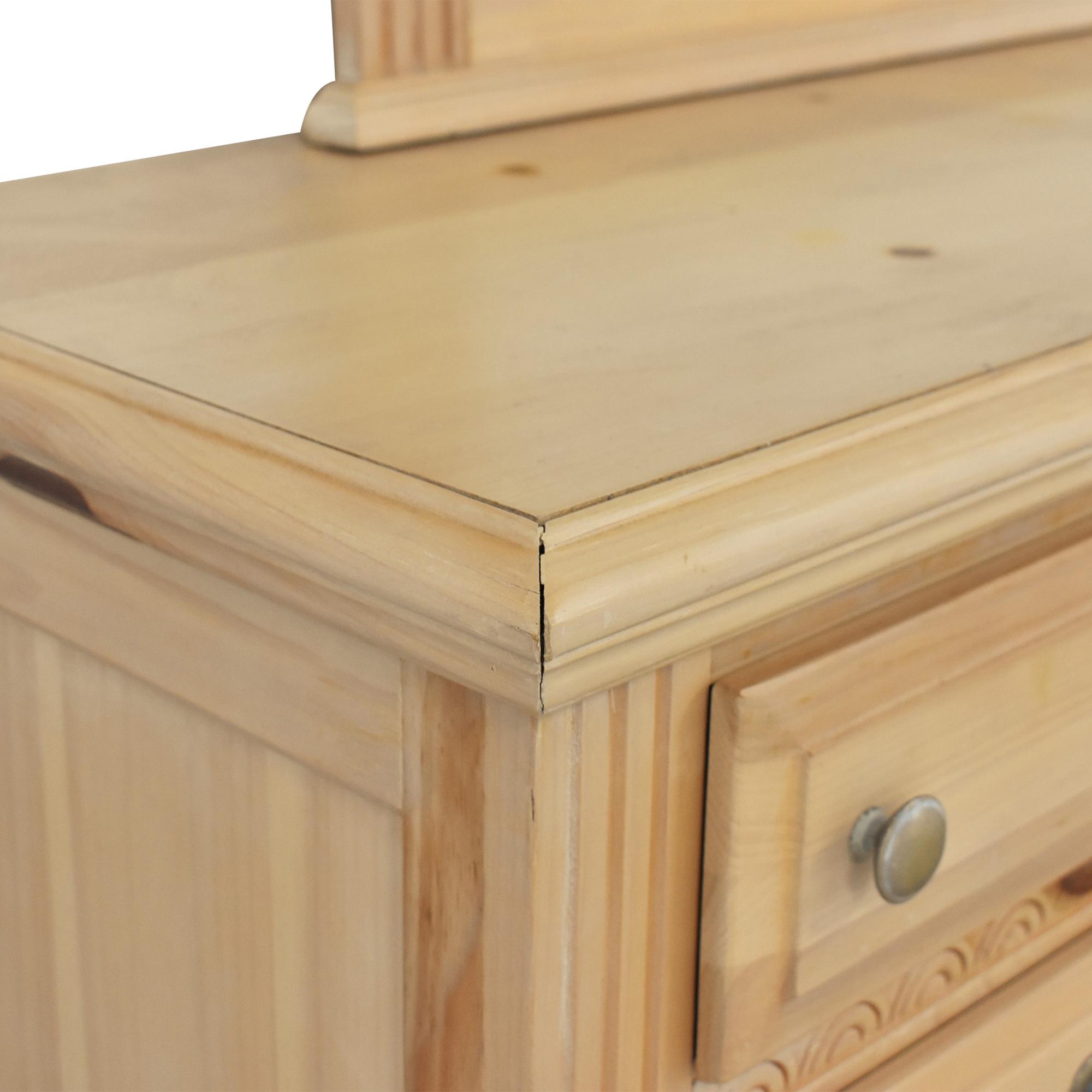 buy Nine Drawer Dresser with Mirror  Storage
