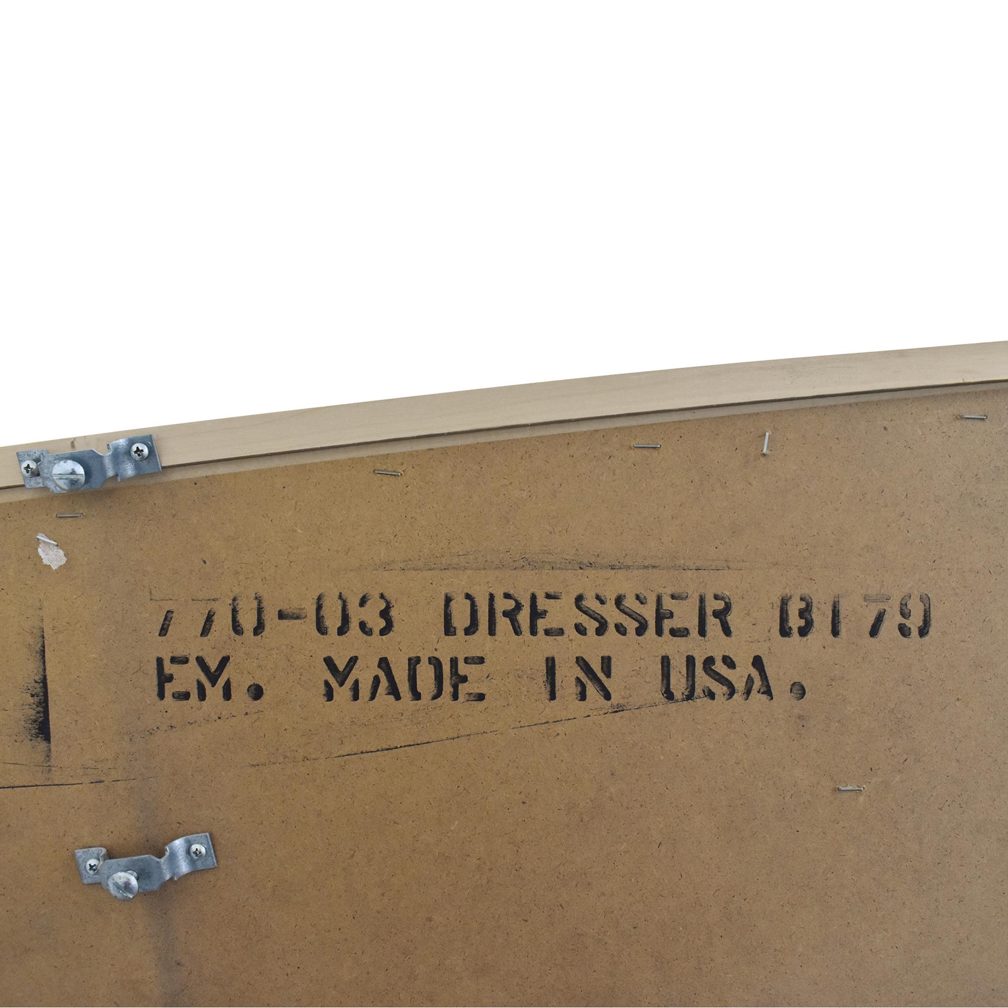 Nine Drawer Dresser with Mirror sale